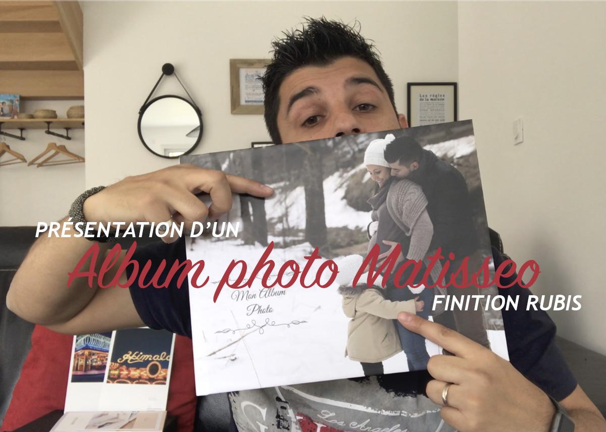 Présentation de l'album photo Matisseo