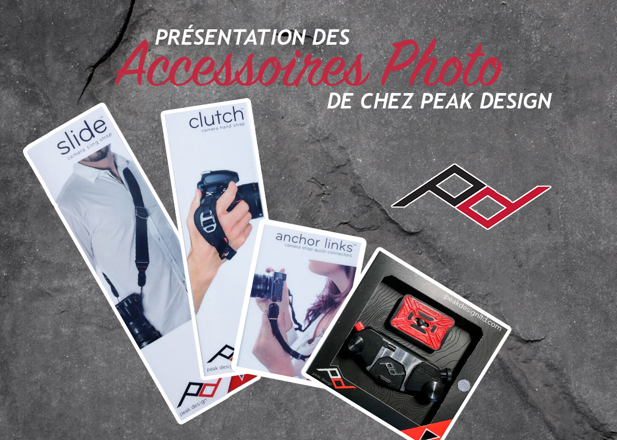 Mes accessoires photo Peak Design