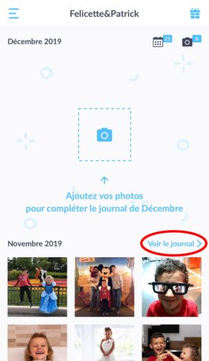 Bouton Voir journal pdf Neveo