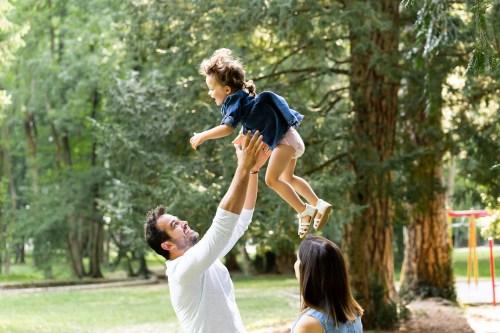 séance photo de famille