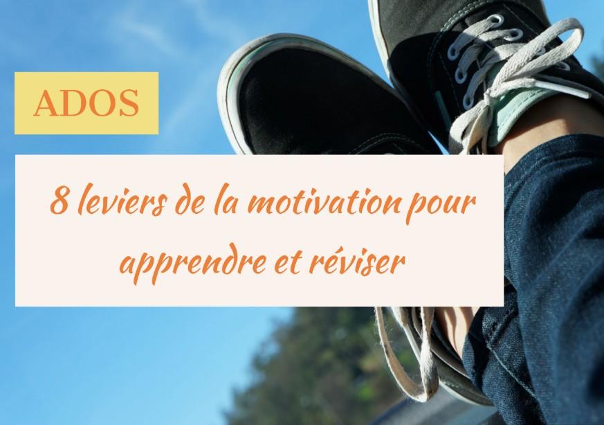 ados motivation apprendre réviser