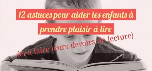 aider les enfants à lire