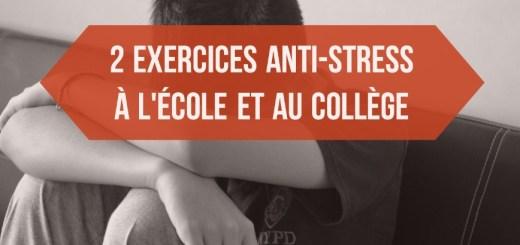 anti stress collège