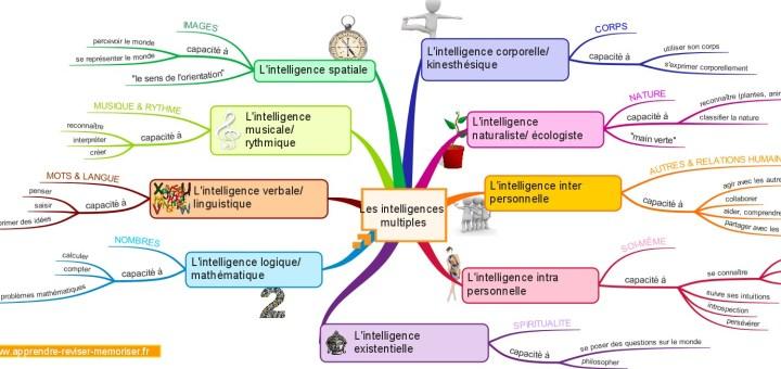 apprendre avec les intelligences multiples