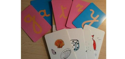 coffret lettres rugueuses montessori