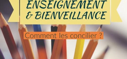 concilier enseignement et bienveillance