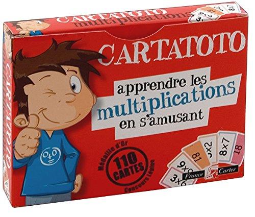 Cartatoto : jeu de cartes pour apprendre les tables de multiplication