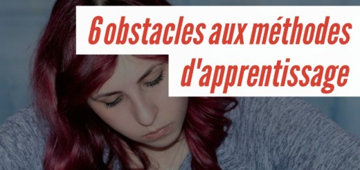 obstacles apprentissage