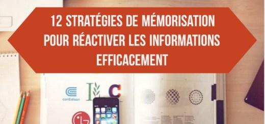 stratégies de mémorisation pour apprendre