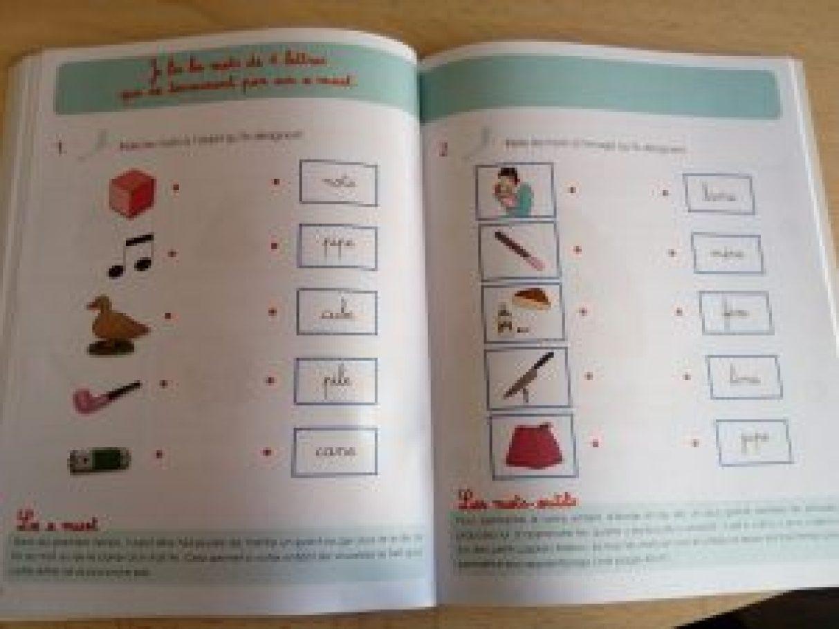 cahier montessori apprendre à lire