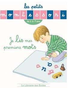 les petits montessori cahier lire les premiers mots