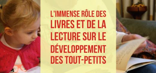 rôle livre développement bébé