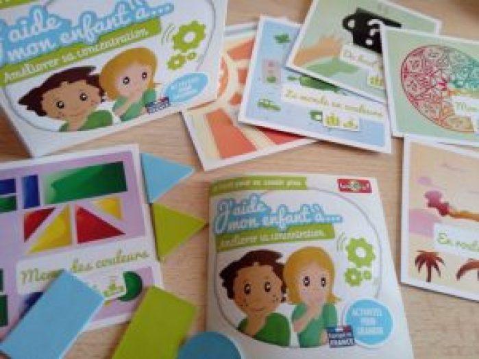 activités aider les enfants à améliorer leur concentration