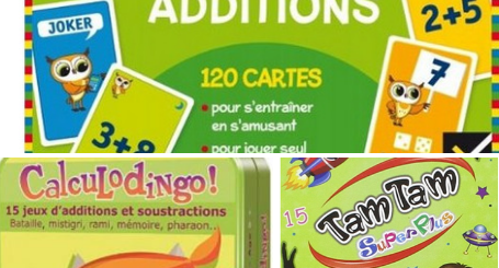 jeu apprendre tables d'addition