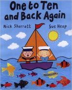 one to ten and back again livre anglais enfants