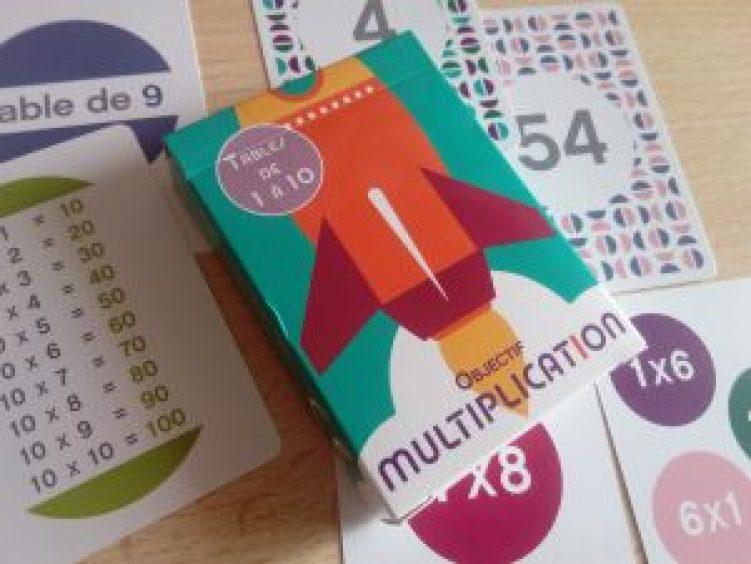 jeu apprendre facteurs tables de multiplication