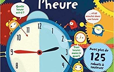 livre apprendre à lire l'heure