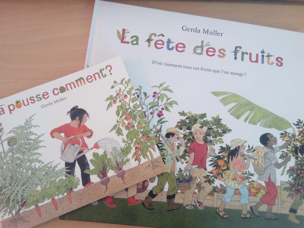 livres enfant nature jardinage