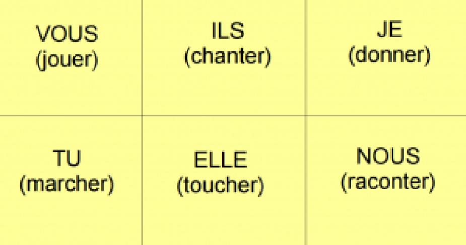 loto des conjugaisons