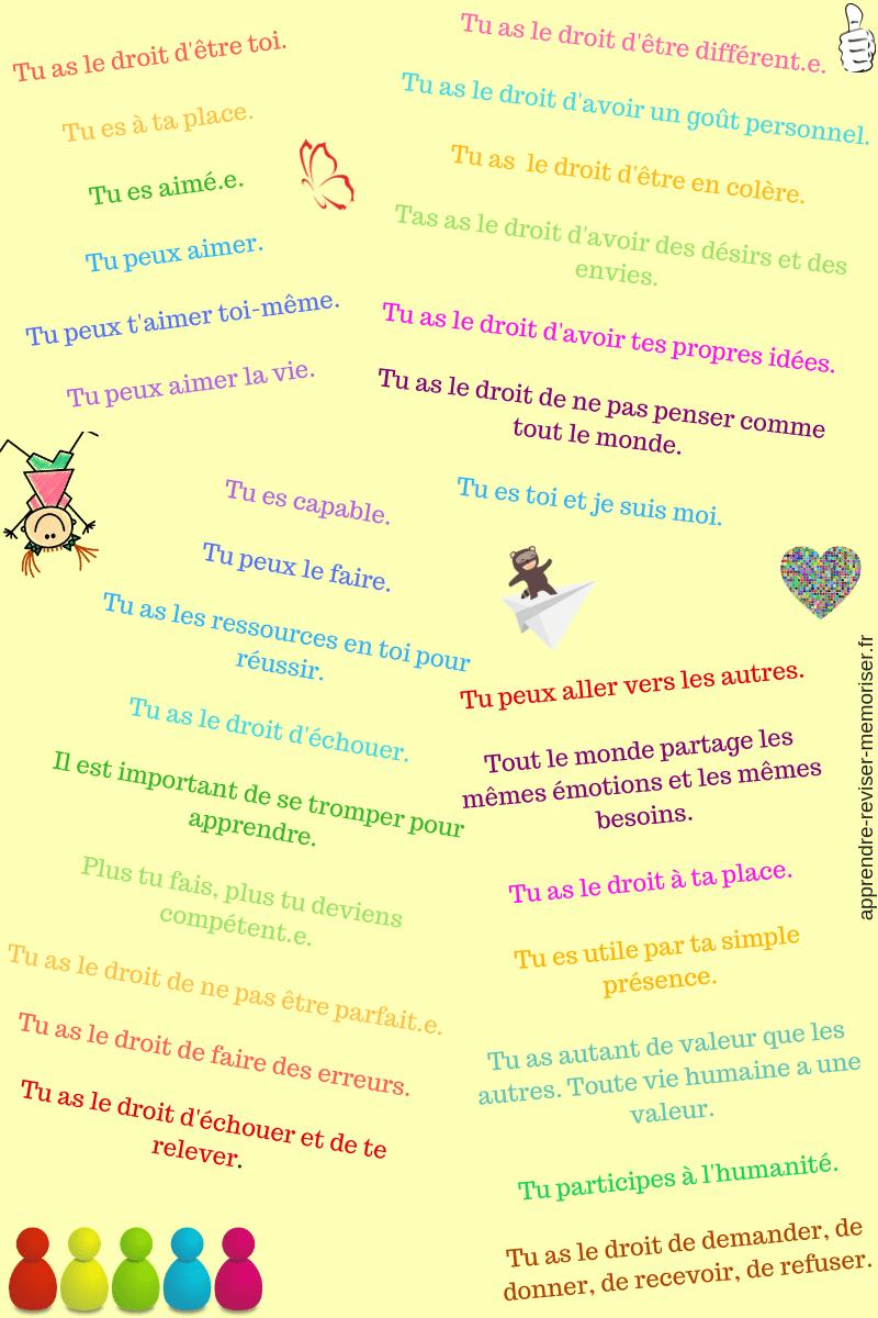 phrases à dire pour valoriser enfants