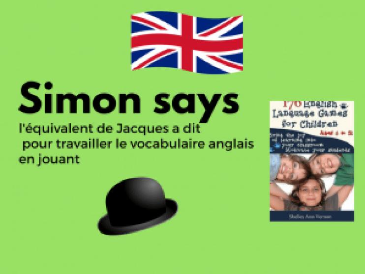 jeu anglais langue étrangère