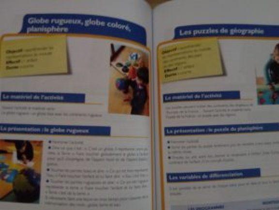 activités pédagogie montessori maternelle école publique