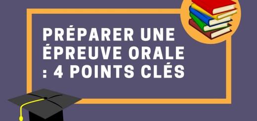 Préparer une épreuve orale : 4 points clés