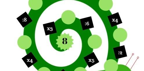 jeu de nombres multiplication
