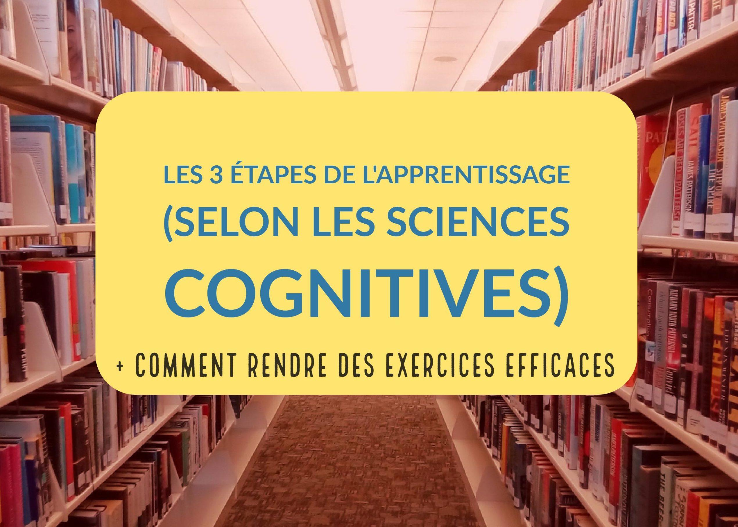 apprentissage sciences cognitives