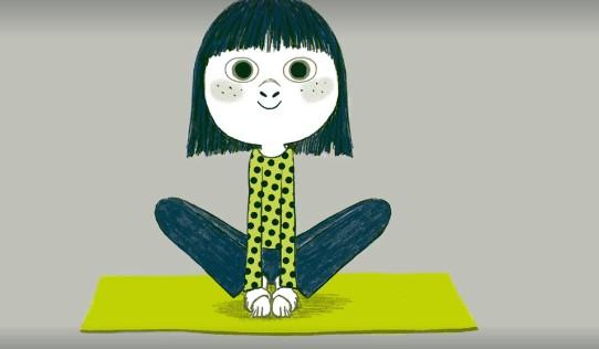 yoga papillon concentrer enfant