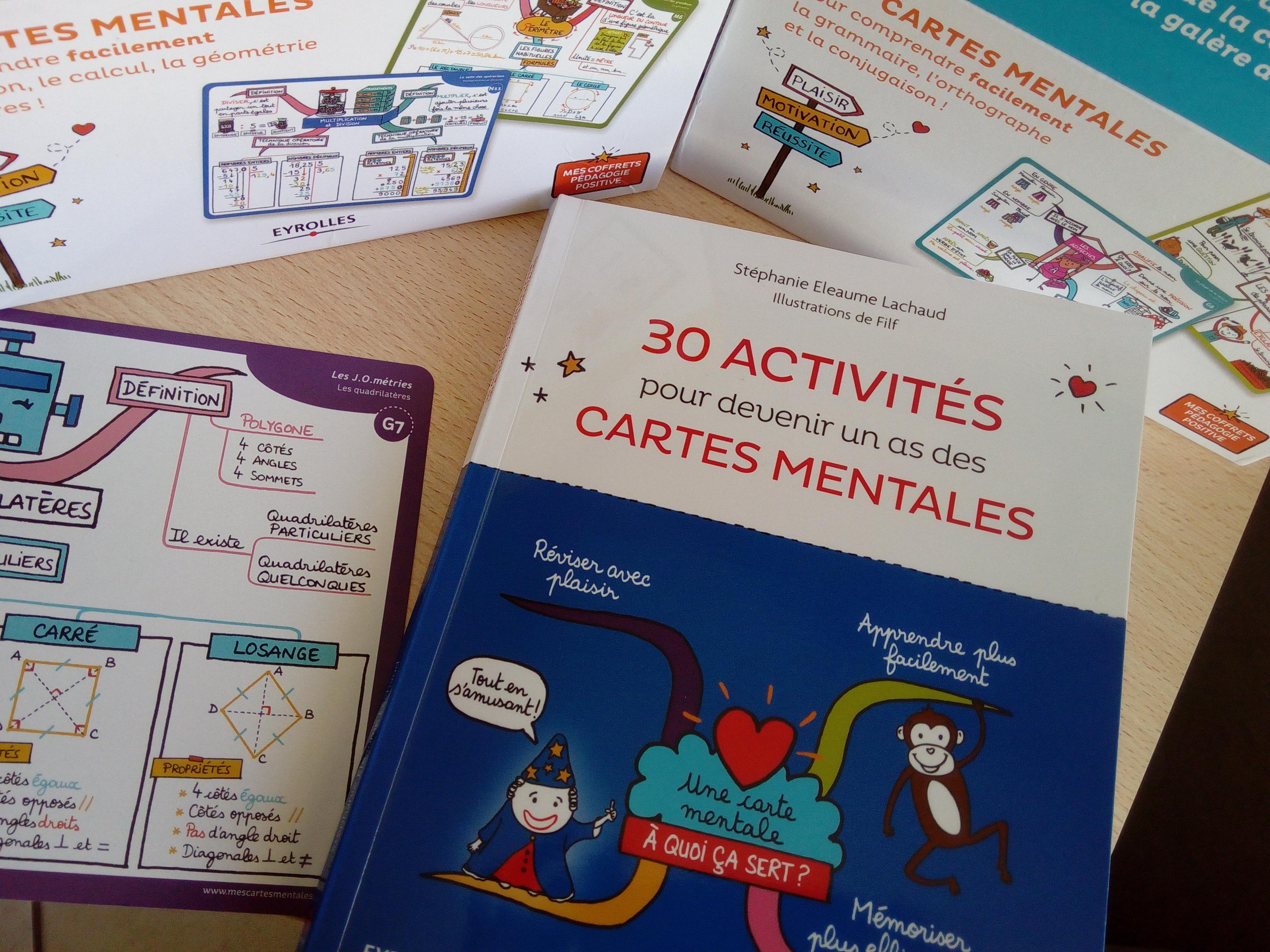 cahier apprendre cartes mentales