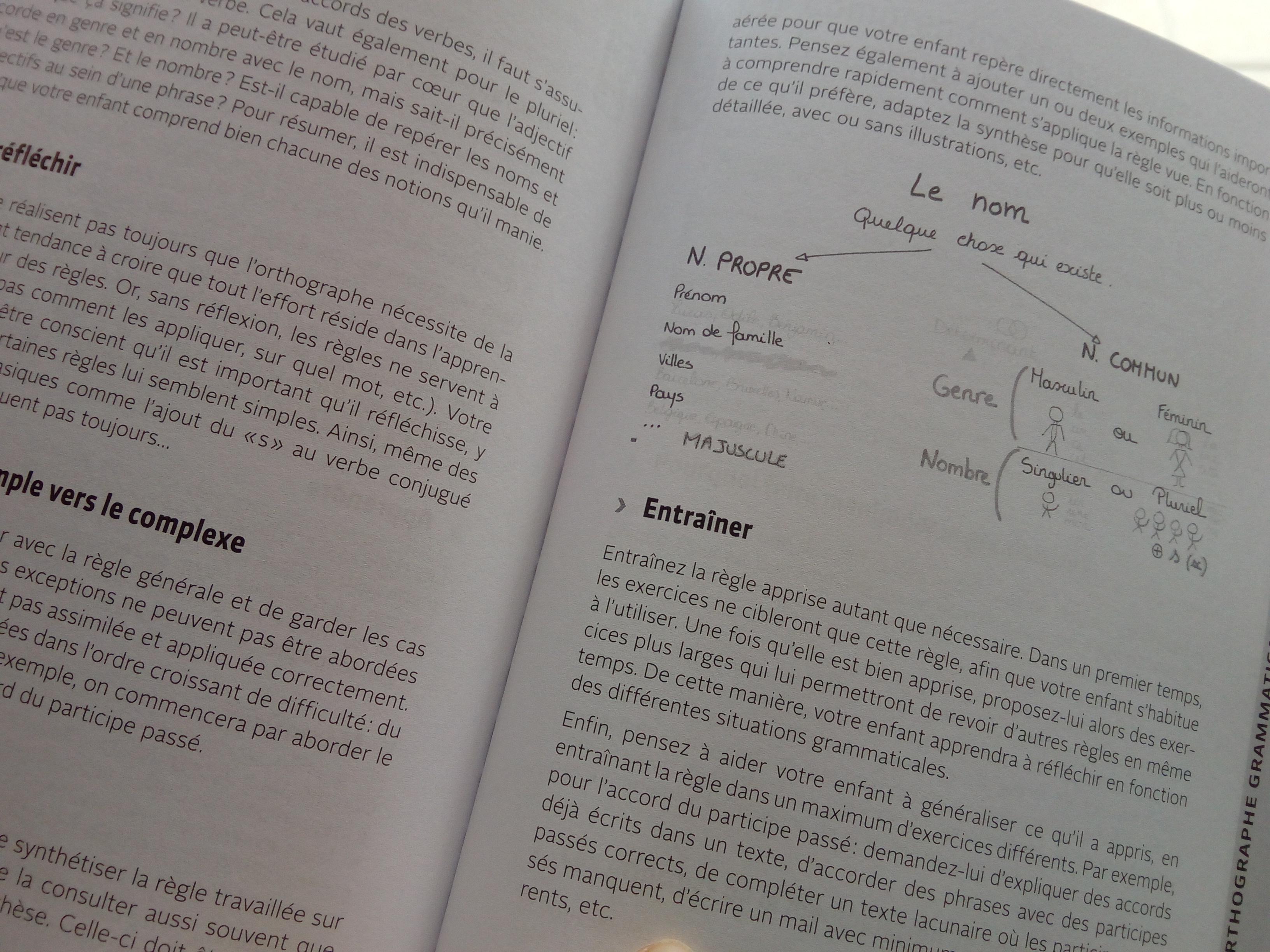 livre progresser en orthographe