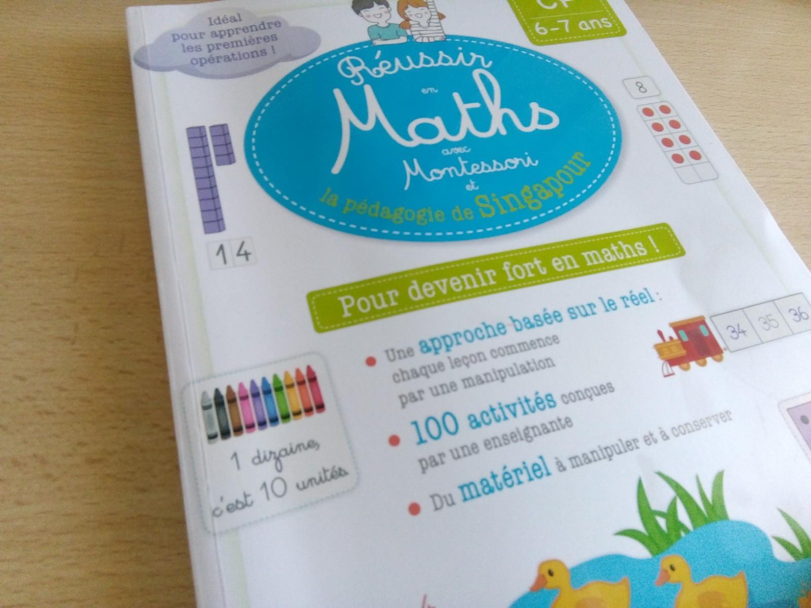 cahier activités maths singapour cp