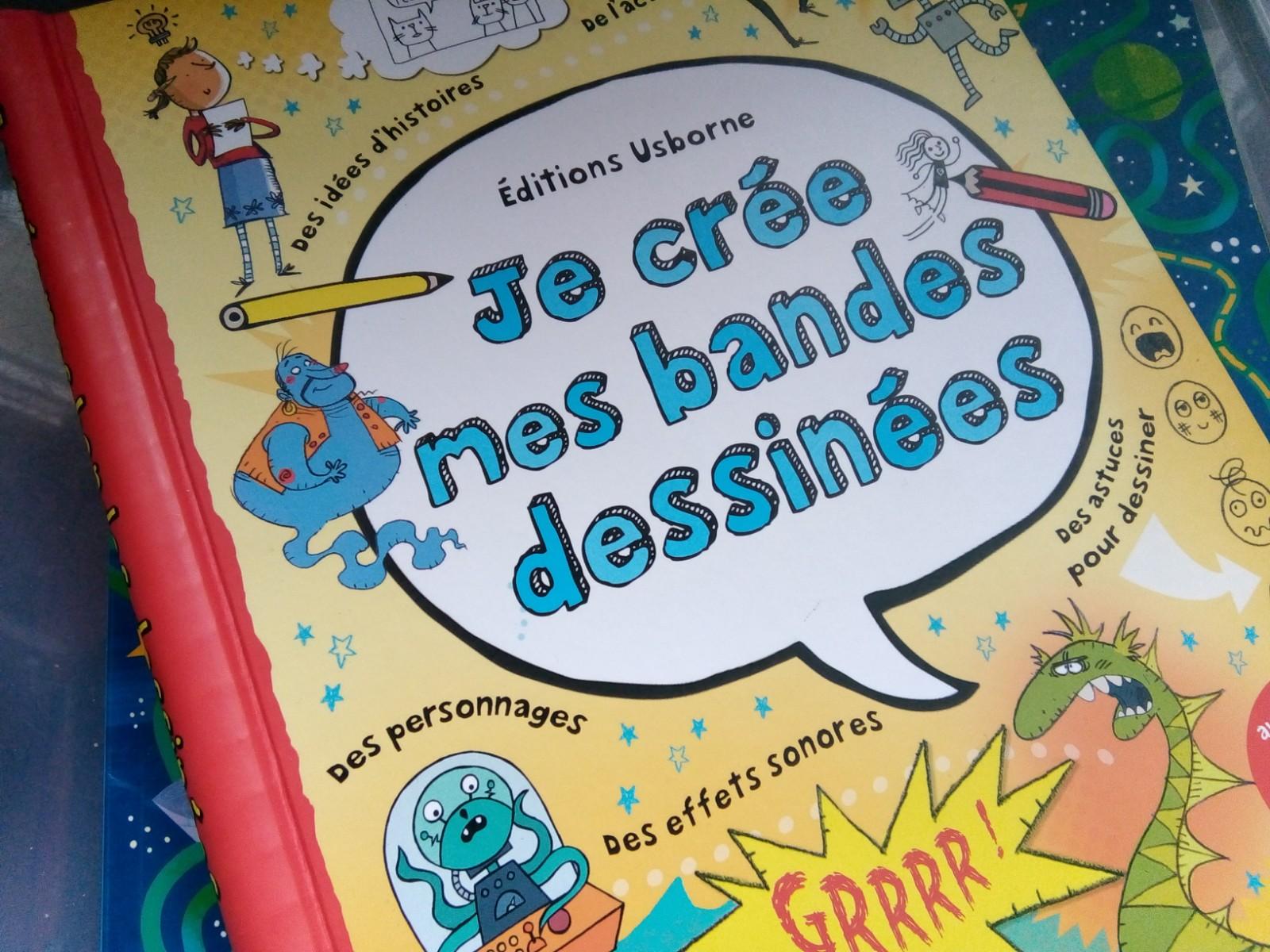 cahier activites bande dessinée enfants