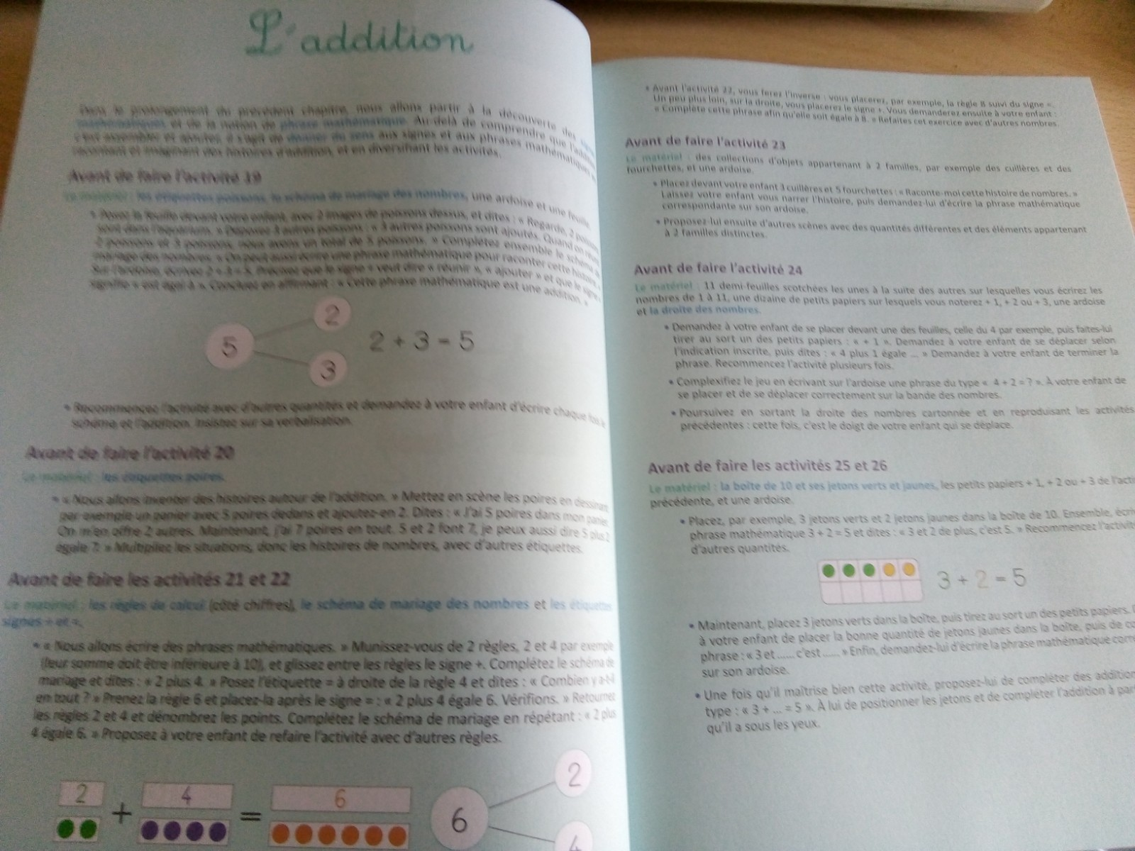 cahier maths singapour