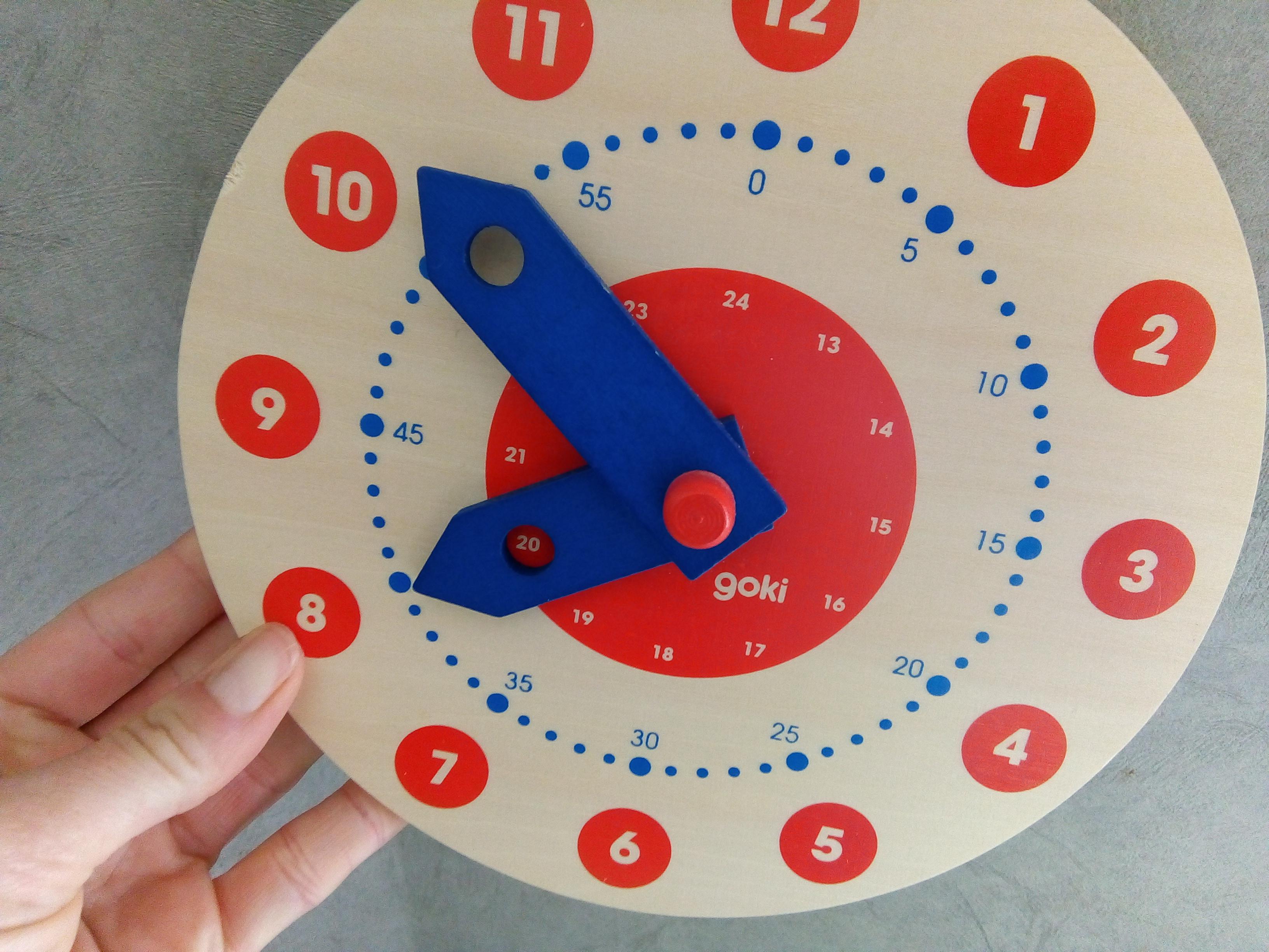 horloge apprendre lire heure
