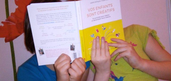 livre créativité enfants
