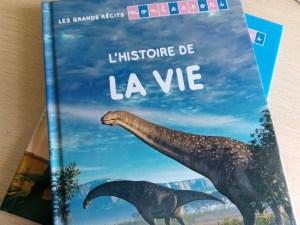 livre enfants histoire de la vie montessori