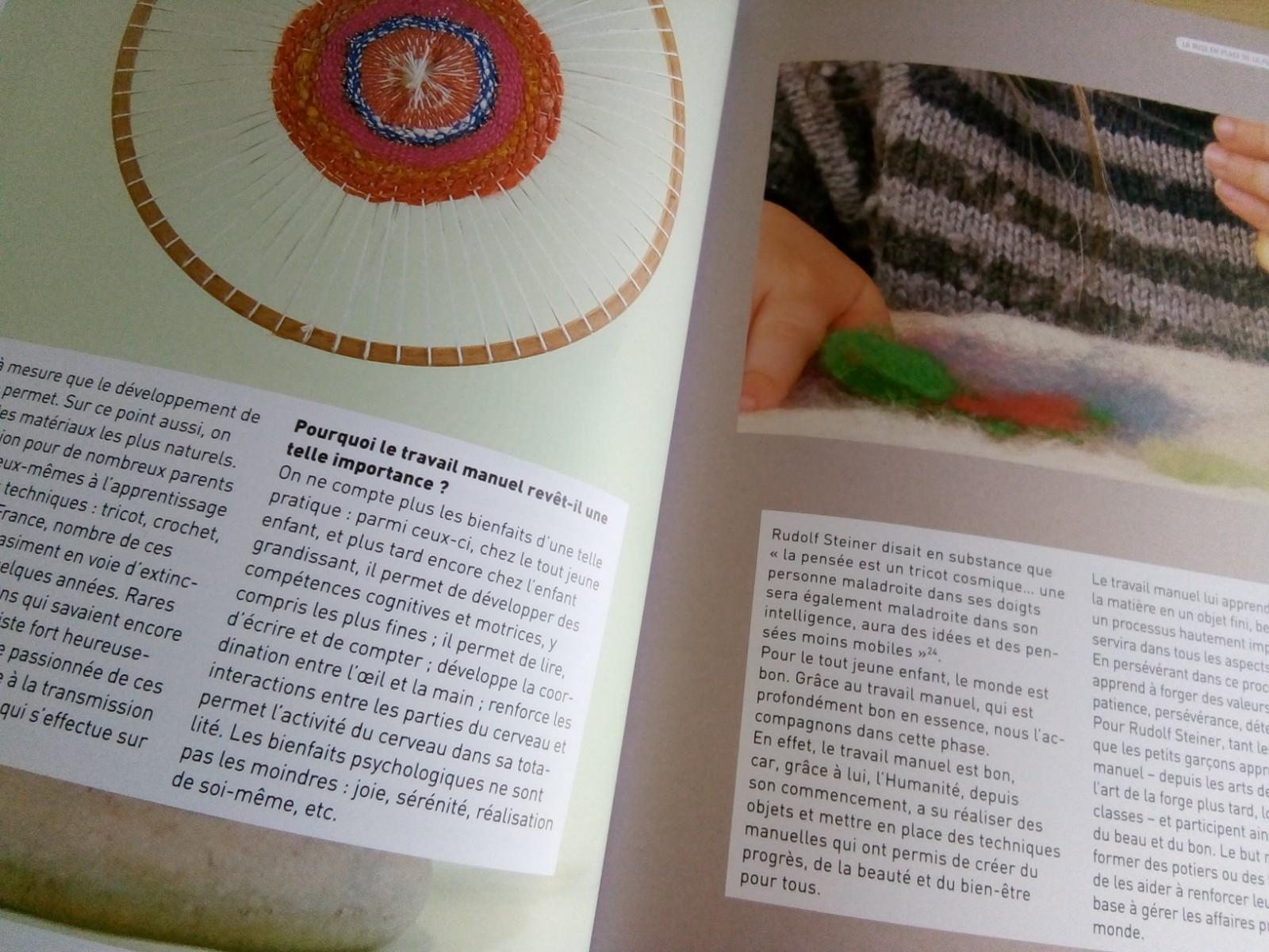 livre sur la pédagogie steiner waldorf