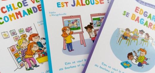 livres émotions enfants classe