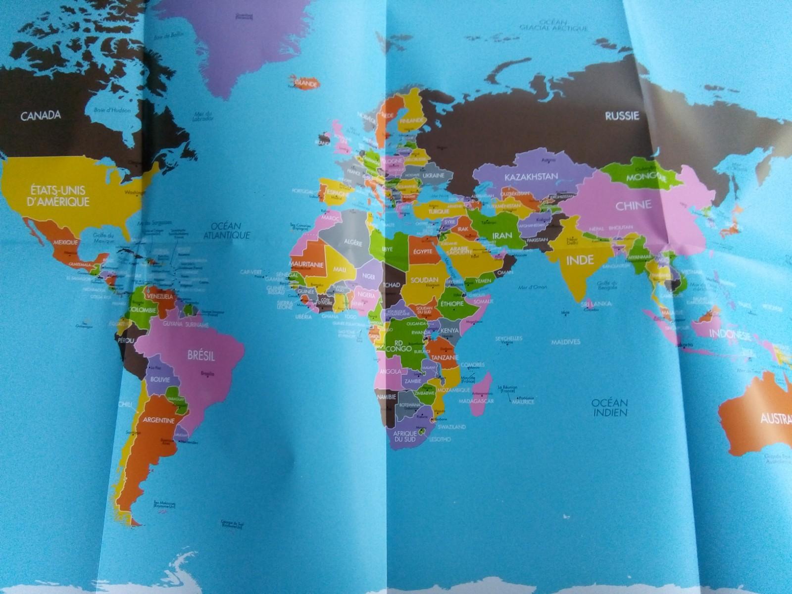 cahier géographie montessori