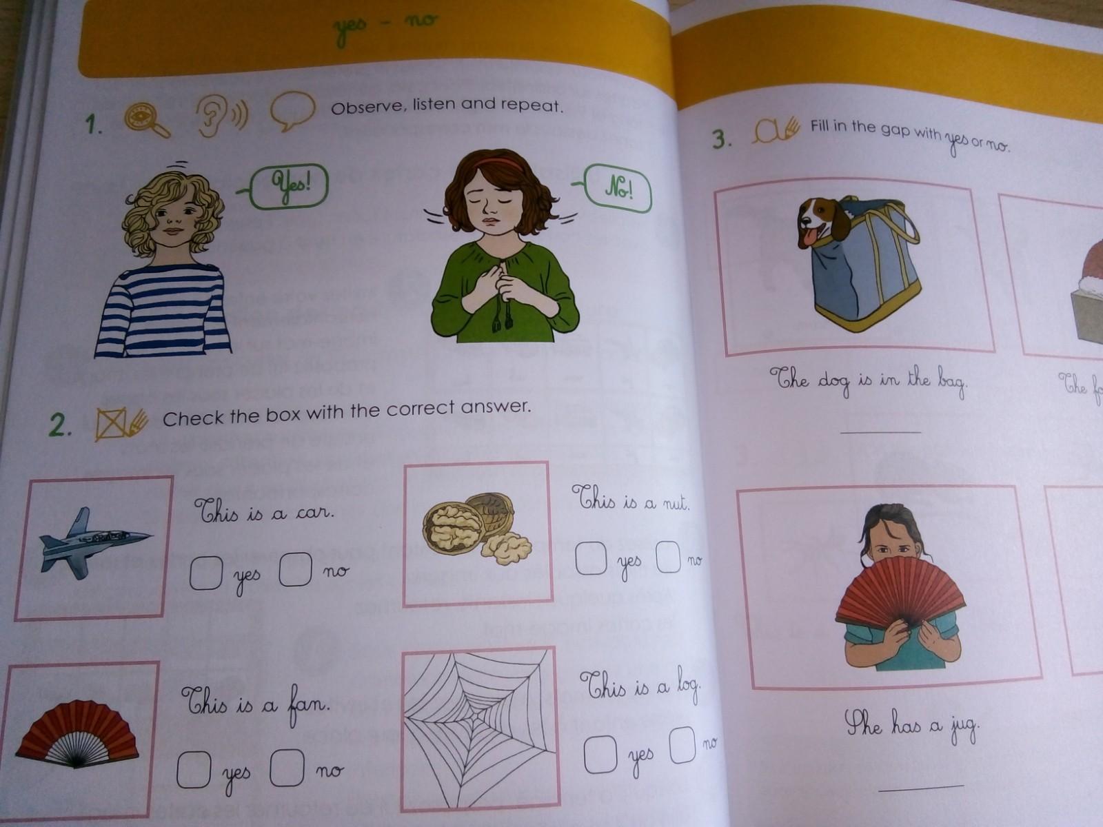 cahier montessori anglais