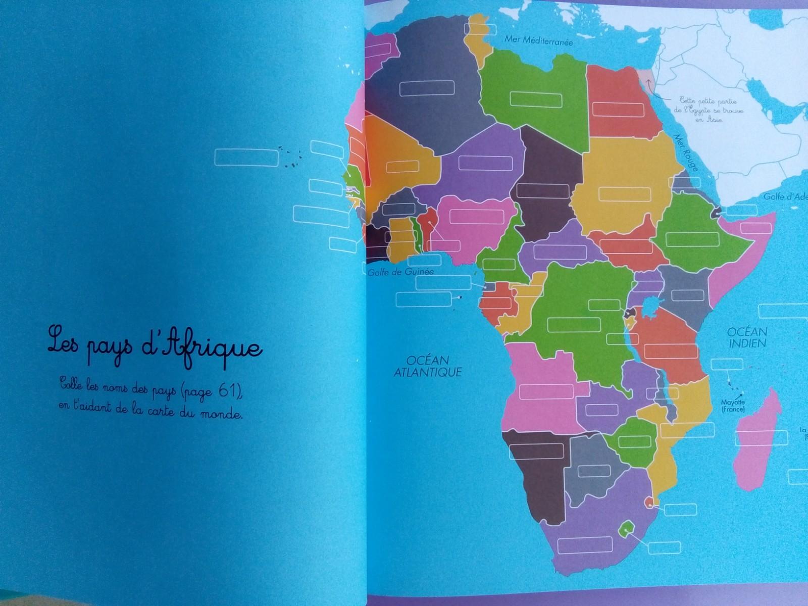 cartes géographie montessori