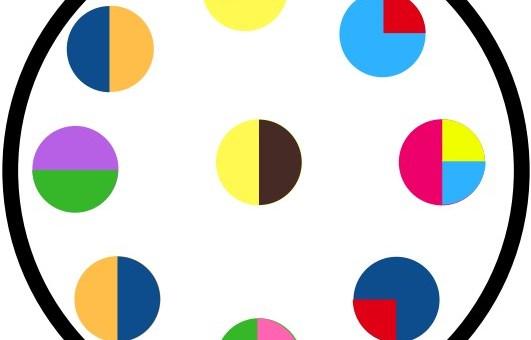 jeu couleurs discrimination visuelle