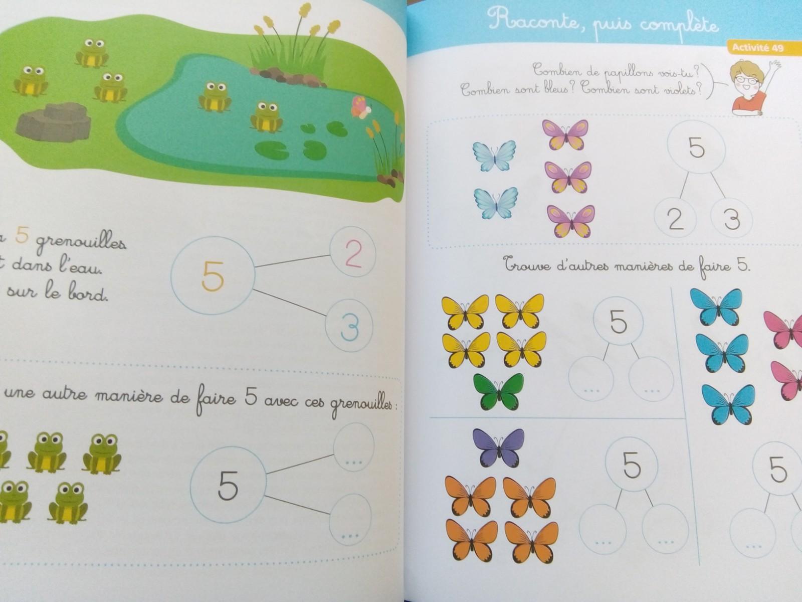 maths singapour maternelle