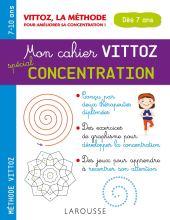 cahier vittoz concentration enfants