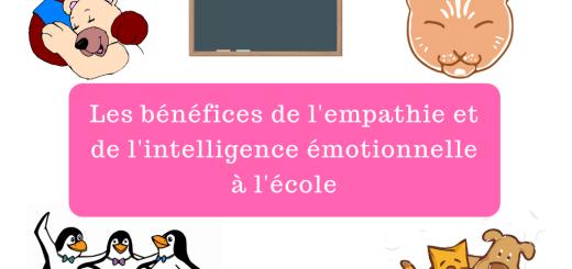 Les bénéfices de l'empathie et de l'intelligence émotionnelle à l'école