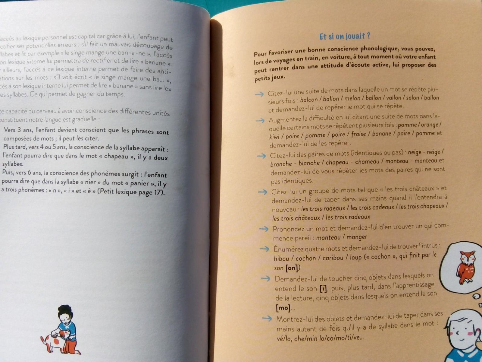 livre apprendre lire enfants