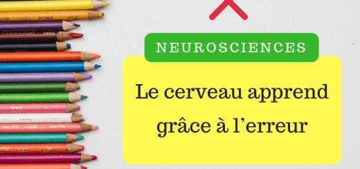 Neurosciences apprendre erreur