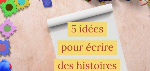 idées écrire histoires enfants